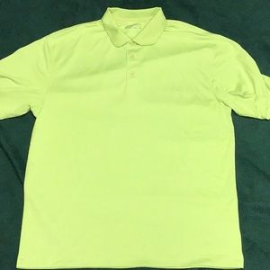 Nike golf polo shirt with fit dry